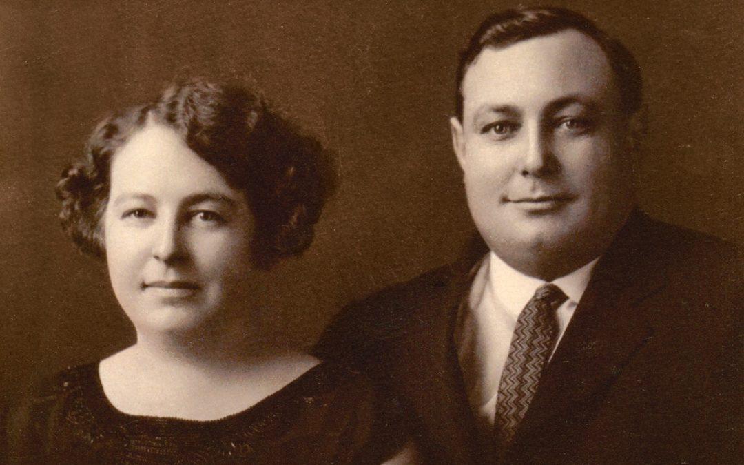 Alfred Lévesque et Albertine Collin