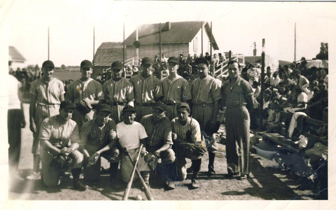 L'équipe de baseball Les invincibles de Rivière-Bleue